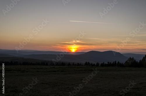 Fotografie, Obraz  zachód słońca