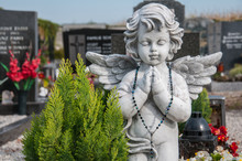 Angel On A Churchyard