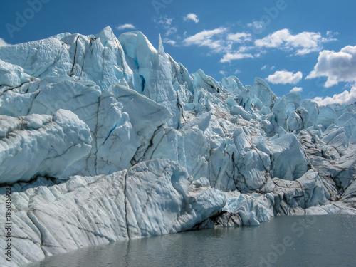Fényképezés  Seracs on Matanuska Glacer, Alaska