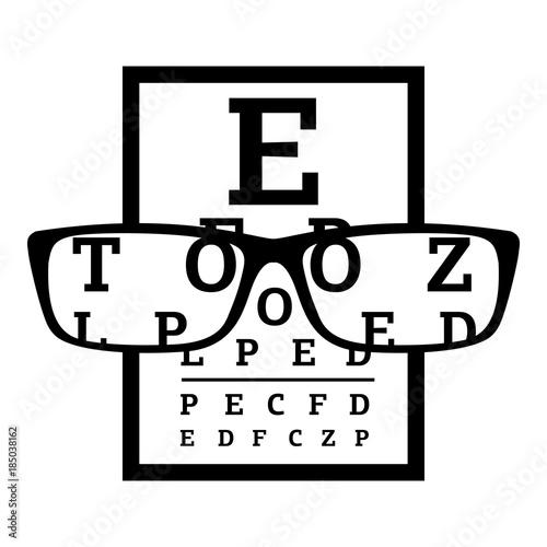 Fotografía  Myopia icon, simple style