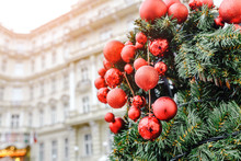 Christmas Decorations Near Hot...