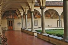 Firenze, Il Chiostro Del Monas...