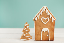 Gingerbread House And Gingerbr...