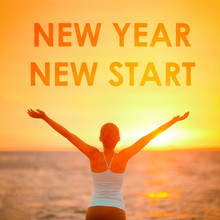 NEW YEAR NEW START Motivationa...
