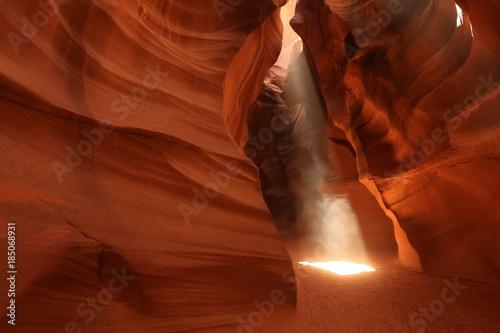 Keuken foto achterwand Rood traf. Antelope Canyon in American Southwest