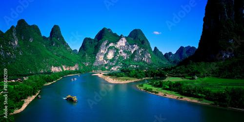 Guilin scene of Guangxi,China
