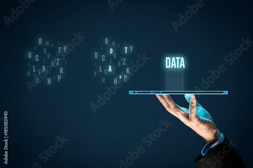 Fototapeta Data mining