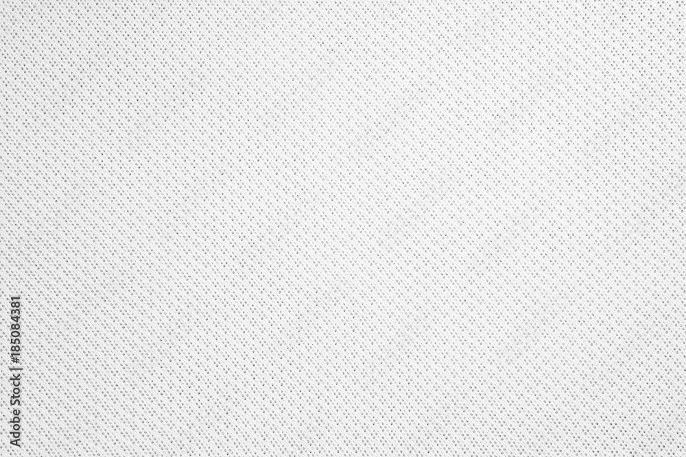 Fototapety, obrazy: Synthetic fabric texture. Background of white textile