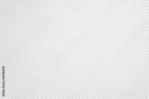 Foto op Aluminium Stof Synthetic fabric texture. Background of white textile