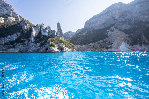 Photo  A view of Cala Goloritze beach, Sardegna