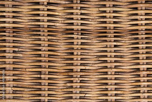 Obraz Wicker rattan texture - fototapety do salonu