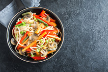Stir Fry With Udon Noodles And...