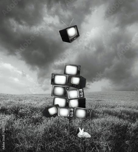 Vintage Metaphysics Televisions