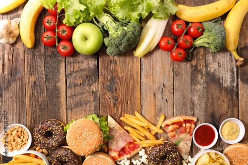fast food or health food © M.studio