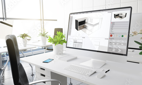 computer office architecture studio