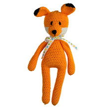 Amigurumi Crocheted Fox Toy Is...