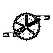 Bicycle Sprocket With Pedal Ve...