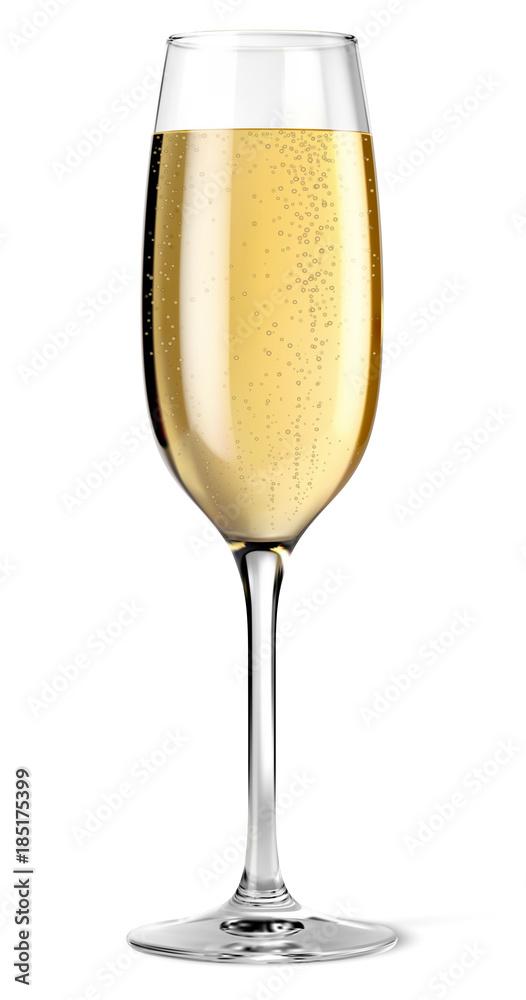 Fototapeta Coupe de champagne vectorielle 1
