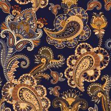 Vector Floral Wallpaper. Hand ...