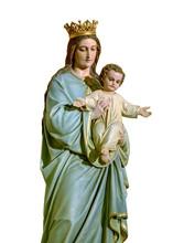 Our Lady Of Mount Carmel Statu...