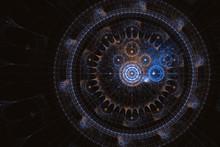Multi-colored Clockwork