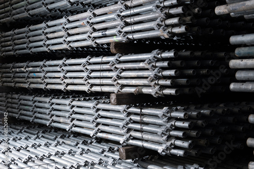 Scaffolding Materials Storage Space