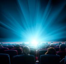 Viewers Watch Shining Light In...