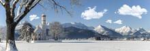 Panorama Winterlandschaft Im A...