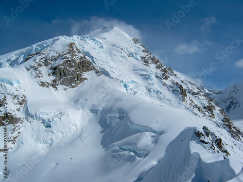 Windy Conditions in the Alaska Range #185235386