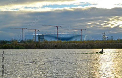 Spoed Foto op Canvas Stadion View of stadium for holding games of the FIFA World Cup of 2018. Kaliningrad