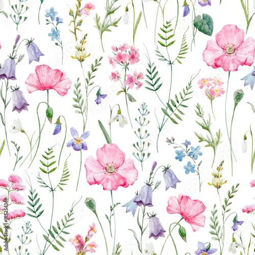 akwarela-kwiatowy-wektor-wzor