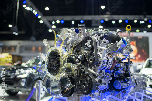 Fotografie, Obraz  Engine show exhibition