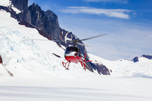 Rescue Helicopter Landing On A...