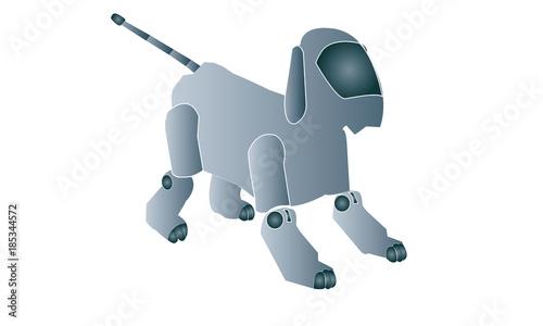 Fotografia  Perro robot