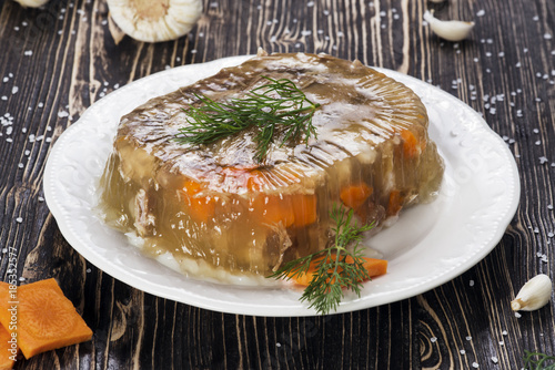 Photo Russian Meat Jelly