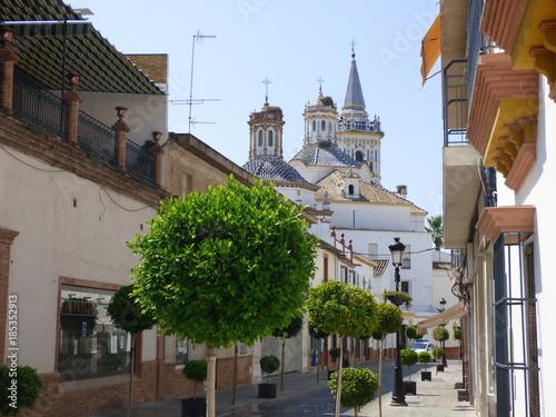 La Palma del Condado,pueblo español de la provincia de Huelva, Andalucía (España)
