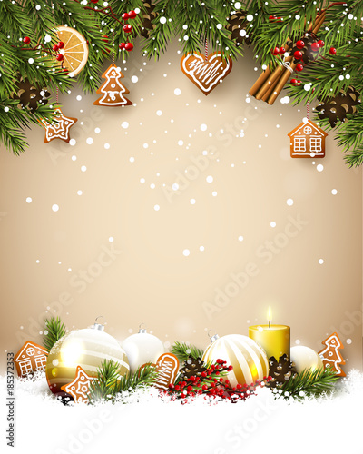 traditional christmas template buy this stock vector and explore