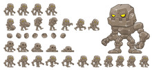 Little Golem Animated Game Character