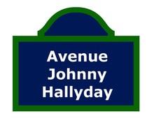 Avenue Johnny Hallyday