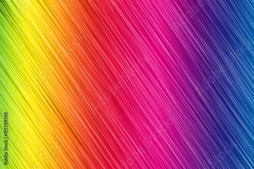 Photo  Abstract rainbow colors background