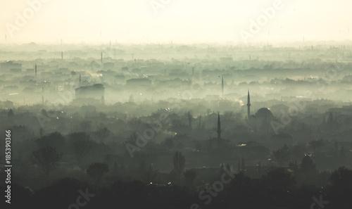 Fotografia  Konya city in winter