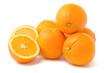 canvas print picture - Orangen, Haufen, ganz