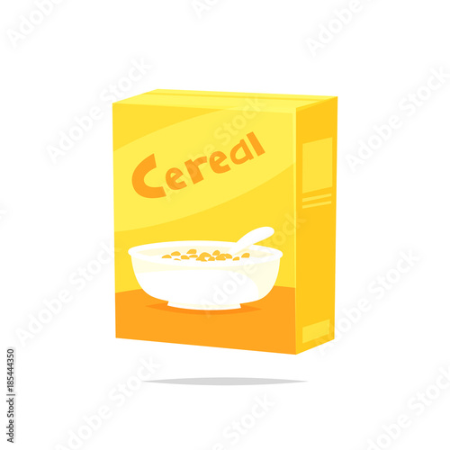 Photo Cereal box vector