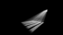 Gloomy Jail Window Light