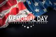 poster, memorial day