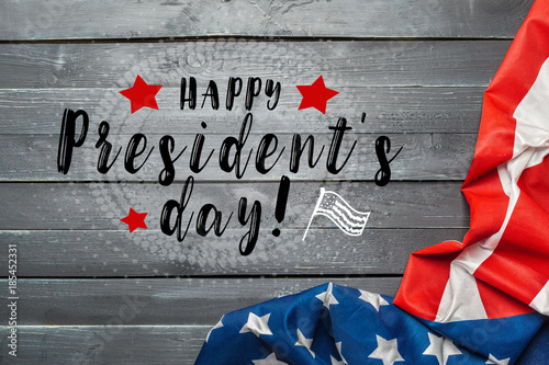Canvas Print happy presidents day