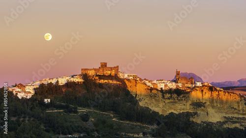 Fotografía  Arcos de la Frontera Full Moon Rise