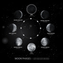 Movements Of The Moon Phases R...