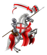 Saint George Medieval Knight O...