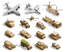 Military Transport Isometric I...